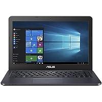 ASUS VivoBook L402NA-GA042TS 14.1 inch HD Notebook Pre-Installed with Microsoft Office 365 (Intel Dual-Core Celeron N3350 Processor, 4 GB RAM, 32 GB eMMC + 1 TB Web Storage, HD Screen, Windows 10) - Dark Blue