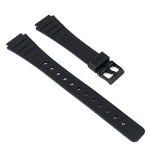 Casio Ersatzband Uhrenarmband Resin Band schwarz für AW-48H AW-48HE