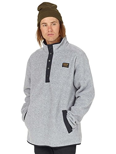 Burton Herren Hearth Fleecepullover shade heather