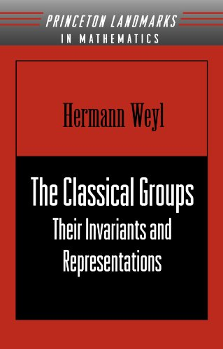 The Classical Groups: Their Invariants and Representations (Princeton Landmarks in Mathematics and Physics)