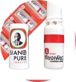 Preisvergleich Produktbild 6 x SIANG PURE Inhaler Inhalierstift Riechstift - NEU