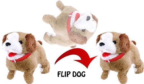 Orangeidea Fantastic Jumping Puppy, Toy Movers and Shakers Flip Pup, Multi Color