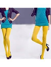 Danigrefinb 120d coloré Femme Hiver Chaud épais Chaussettes Collants  Collants Bonneterie… 5cb21d06bbe