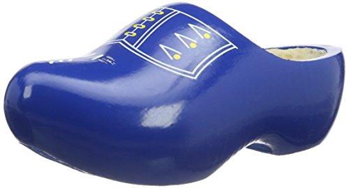 Gevavi  Holländische Holzschuhe, Holzpantinen V.V., Sabots mixte adulte Blau (blau(blauw) 77)