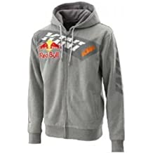 Original KTM KINI de RB Zip Hoodie Grey Talla XL