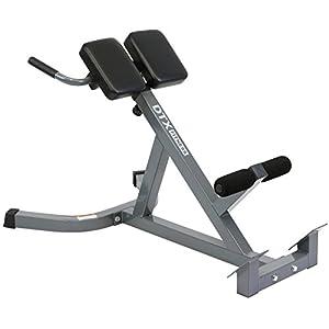 DTX Fitness – Höhenverstellbarer Rückenstrecker – zur Stärkung der Rückenmuskulatur