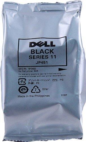 Dell JP451, 310-9682, 330-2092 (Series 11) Black High Capacity OEM Genuine Inkjet/Ink Cartridge - Retail by Dell -