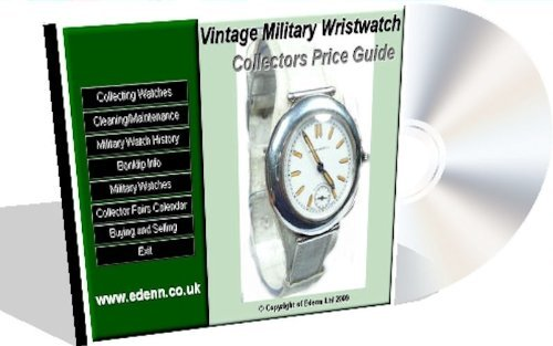 Vintage Military Wristwatch Price Guide by Ronald Mayfair (2009-05-27)