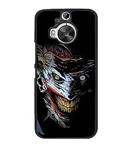 printtech Joker Gotham Art Scary Back Case Cover for HTC One M9+