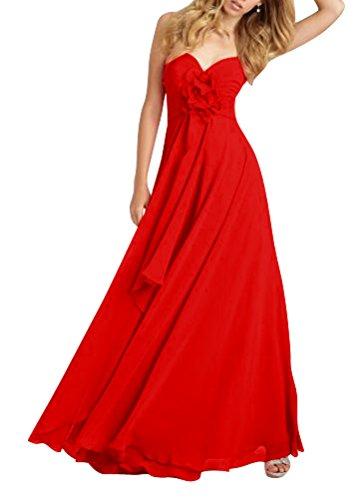 ShiYuan - Robe - Trapèze - Femme red