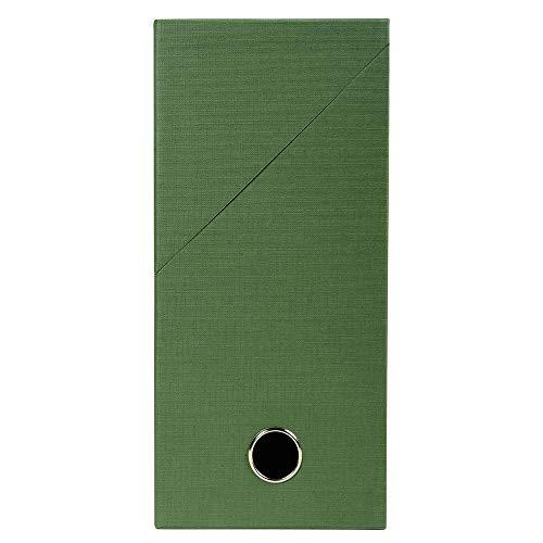 Exacompta 89423E Sammelordner stoffbespannt 12cm grün