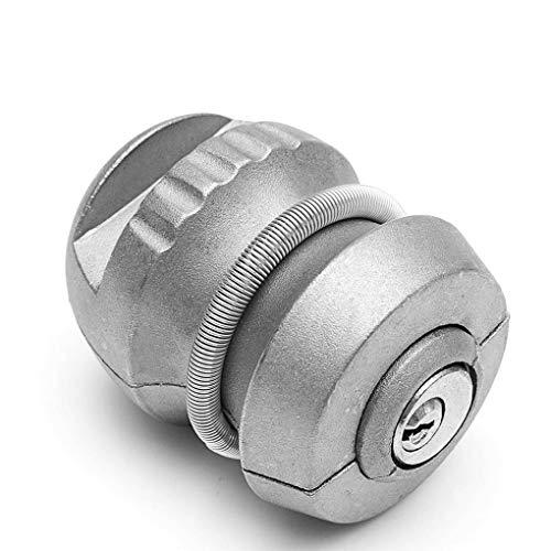LEVEL GREAT Universal-Qualitäts-Silber-Zink-Legierung Hitchlock Anhängerkupplung Kupplungsverschluss Anhängerkugelsperr Caravan Schloss