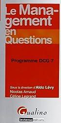 Le management en questions : Programme DCG 7