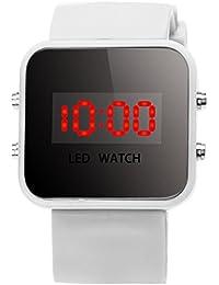 Demiawaking Chico Chicas Silicona LED Digital Relojes Deporte Reloj