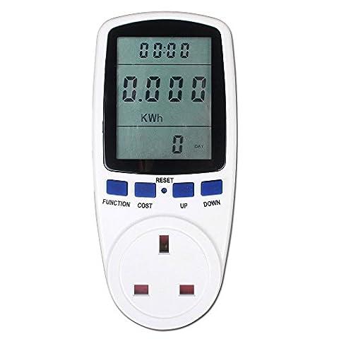Eakar Power Meter AC 230V UK Energy Plug Energy Monitor