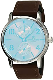 Daniel Klein Analog Silver Dial Women's Watch-DK119