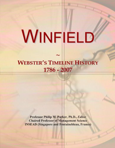 winfield-websters-timeline-history-1786-2007