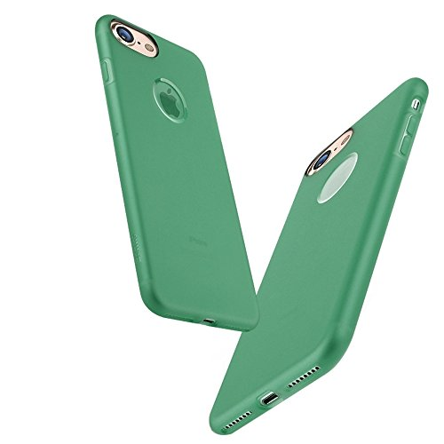Mobiltelefonhülle - Benks Skin Serie für iPhone 7 TPU Ultra-dünner Schock-beständiger Schutzhülle ( Farbe : Weiß ) Grün