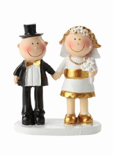 Figurilla divertida para decorar el pastel de boda. Utiliza la figurilla para decorar la mesa o una tarta de regalo.