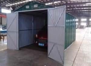 BOX CASETTA CASETTE RIMESSA RIPOSTIGLIO GARAGE AUTO GIARDINO ZINCATA MISURA CM 500x300x232h