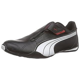 Puma Redon Move, Unisex-Erwachsene Sneakers, Schwarz (black-white-high risk red 02), 44 EU (9.5 Erwachsene UK)