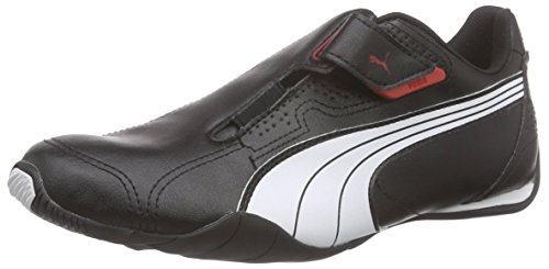 Puma - Redon Move, Sneakers, unisex, Black/White/High Risk Red 2, 42.5