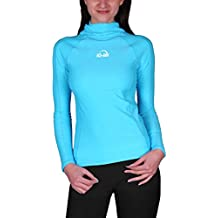 iQ-Company Damen UV Kleidung 300 Hooded-Shirt Long Sleeve