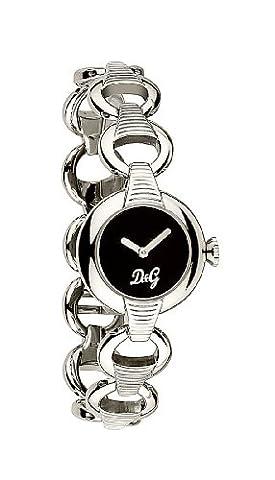 D&G DW0342 Ladies 'Pattern' Stainless Steel Bracelet Watch