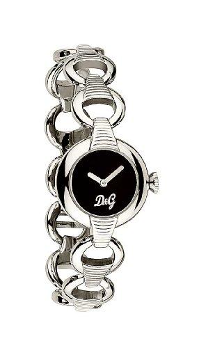 D&g watch d&g pattern ss blk dial brc dw0342 - orologio da donna