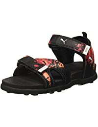 Puma Unisex Technocatgupsidppumablack-Redblas Sandals