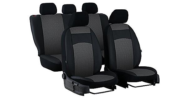 VW T-ROC maßgefertigte Sitzbezüge EXCLUSIVE Kunstleder mit Alkantra HELLGRAU.