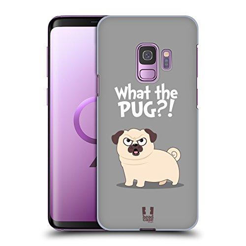 Head Case Designs What Piper Der Mops Harte Rueckseiten Huelle kompatibel mit Samsung Galaxy S9