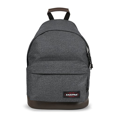 Eastpak Wyoming Rucksack, 40 cm, 24 L, Grau (Black Denim) (Outdoor-gepolsterter Bank)