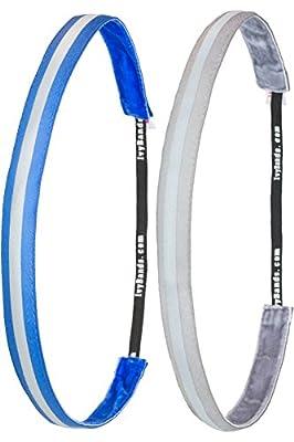 Ivybands ®   Das Anti-Rutsch Haarband   2er Pack   Mehrere Designs