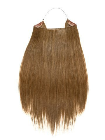 Hidden Halo Synthetic Straight 18 Inch (1B Natural Black) by Lord and Cliff