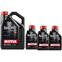 MOTUL Aceite Lubricante Specific VW 504.00-507.00 5w30, Pack 8 litros