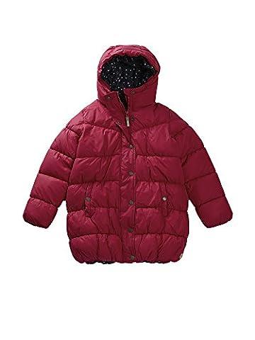 Bench Mädchen Mantel Turbulence, Rosa (Dark Pink PK039), 140 (Herstellergröße: 9-10)