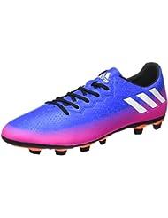 adidas MESSI 16.3 FG - Botas de fútbol Línea Messi para Hombre, Bronce - (COBMET/NEGBAS/VERSOL) 46 2/3
