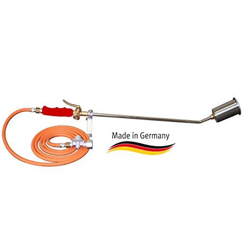 EXACT- Heimwerker Brennerset mit 60 mm Brenner, Schlauch u. Regler - Deutsches Qualitätsprodukt -