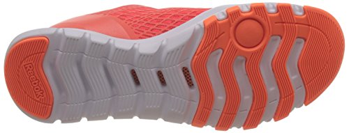 Reebok Everchill Train, Chaussures de Sport Femme Rouge / orange / blanc (rouge Atomic / pêche électrique / blanc)
