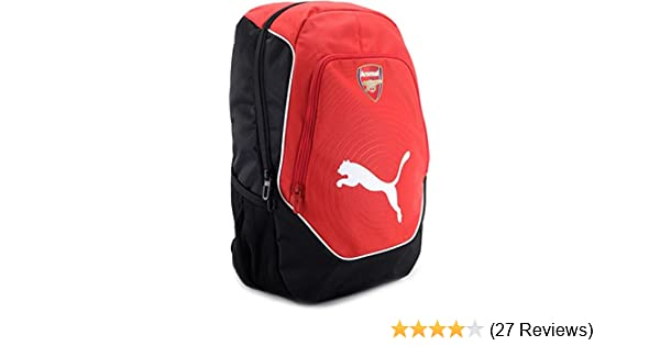 a34535681db0 ... Puma Arsenal Football Multi-Color Casual Backpack (7288301) Amazon.in  Bags