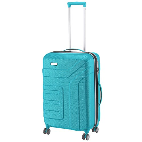"Travelite Valise trolley ""Vector"" avec 4 roues turquoise Koffer, 70 cm, 79 liters, Türkis (Turquoise)"