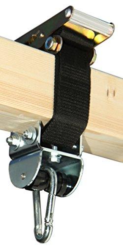 Flexible Bandschelle bis Ø30 cm oder 95 cm Umfang mit MARATHON Rollengelenk