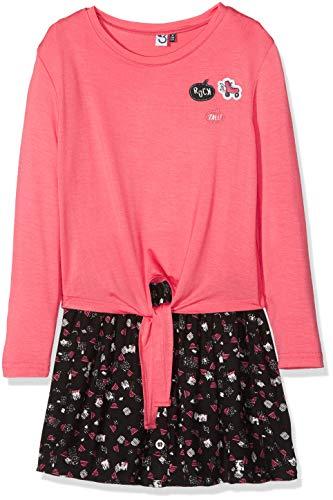 3 pommes Mädchen Dress 3M30064 Kleid, Schwarz (Black 02), 7-8 Jahre (Herstellergröße: 7Y/8Y)