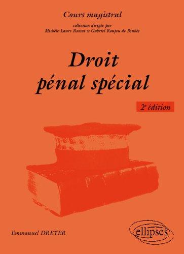 Droit Penal Spécial