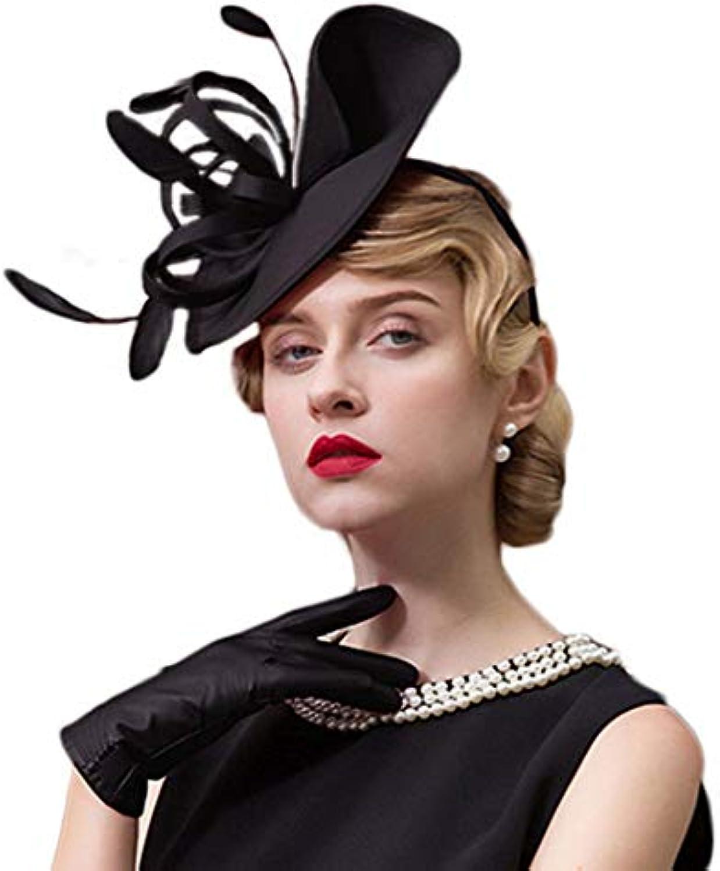 OLADO Cappellino da Federa per Cappelli da da Cerimonia per Matrimoni 068893342757