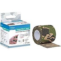 Höga Fingerflex breit, camouflage, 5 cm x 4.5 m gedehnt, Selbsthaftende Pflaster Bandage, elastisch & reißbar,... preisvergleich bei billige-tabletten.eu