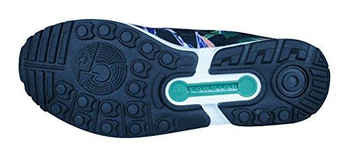 adidas Originals ZX Flux Laufschuhe Schwarz (Cblack/Cblack/Ftwwht)