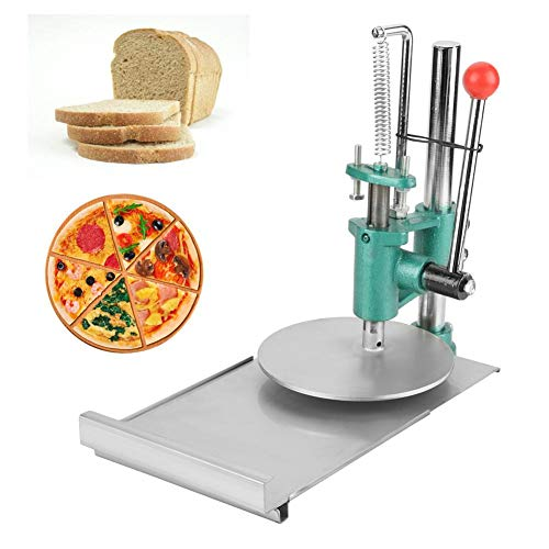 Riuty Manuelle Teigpresse-Maschine, Edelstahl-Untergestell für die Herstellung von Pizza, Gebäck und vielen Anderen Speisen