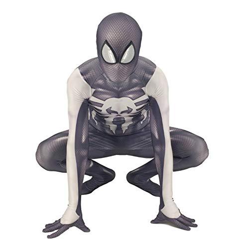 Kostüm Punisher Der - CVFDGETS Punisher Spiderman Overall Anime Kostüm Cosplay Strumpfhosen Kleidung Weihnachten Halloween Kostüm Für Erwachsene Tragen,ChildM